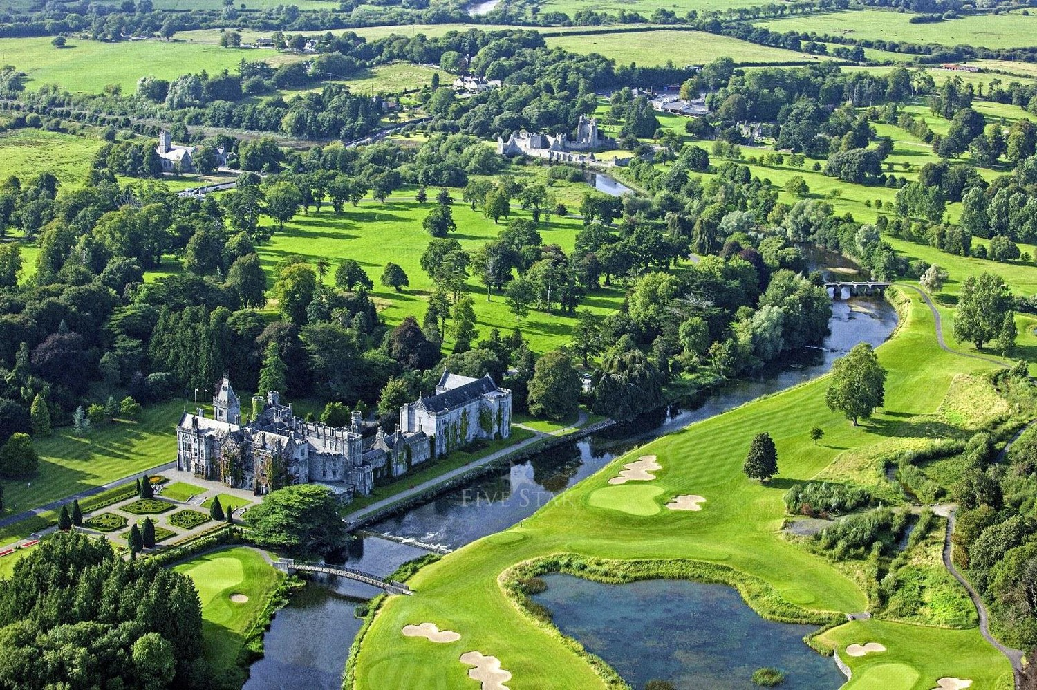 Adare Manor - a  makeover like nothing seen in the country before.