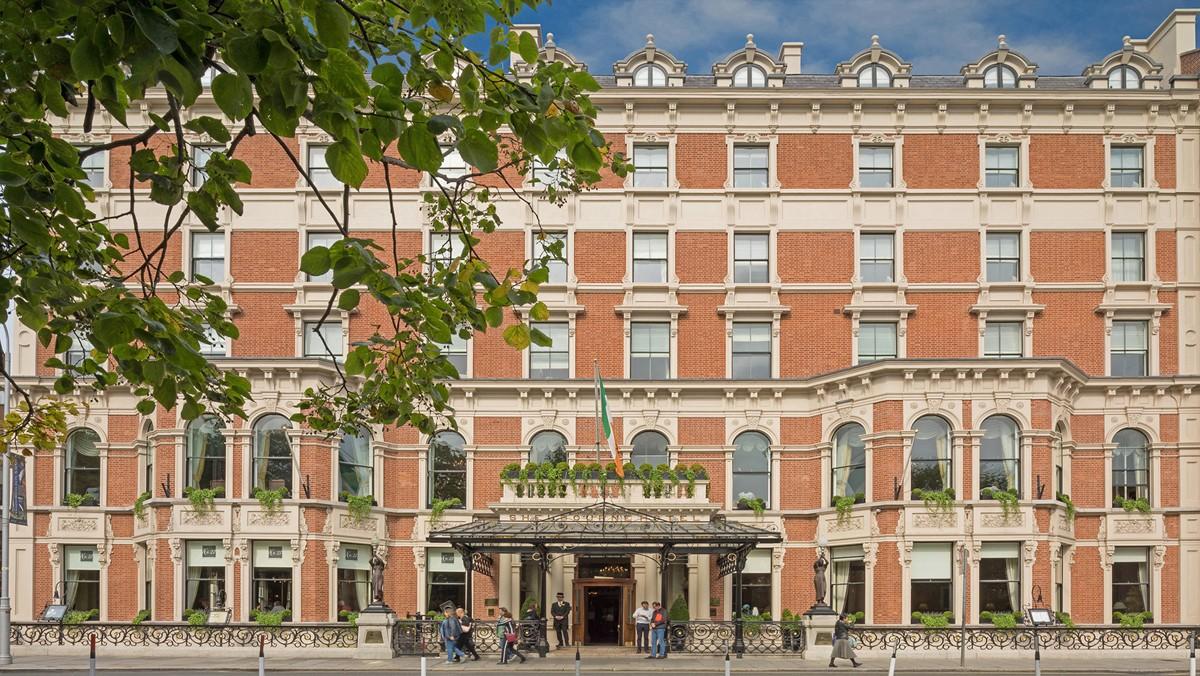 Dublin's Iconic Shelbourne Hotel - Image by Kelvin Gillmor