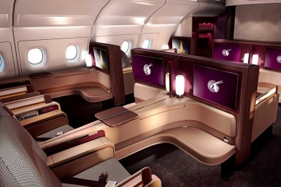 <p>First Ever Double Bed On Business Class</p>