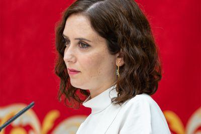 <p>Women in power - Madrid's Isabel Díaz Ayuso<span></span></p>