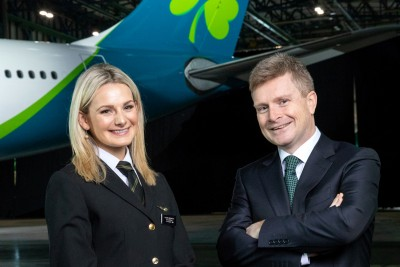 Aer Lingus: The Girl with the Shamrock Tattoo