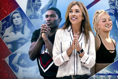 <p>Cheerleading Coach is 'Queen of the USA'<span></span></p>