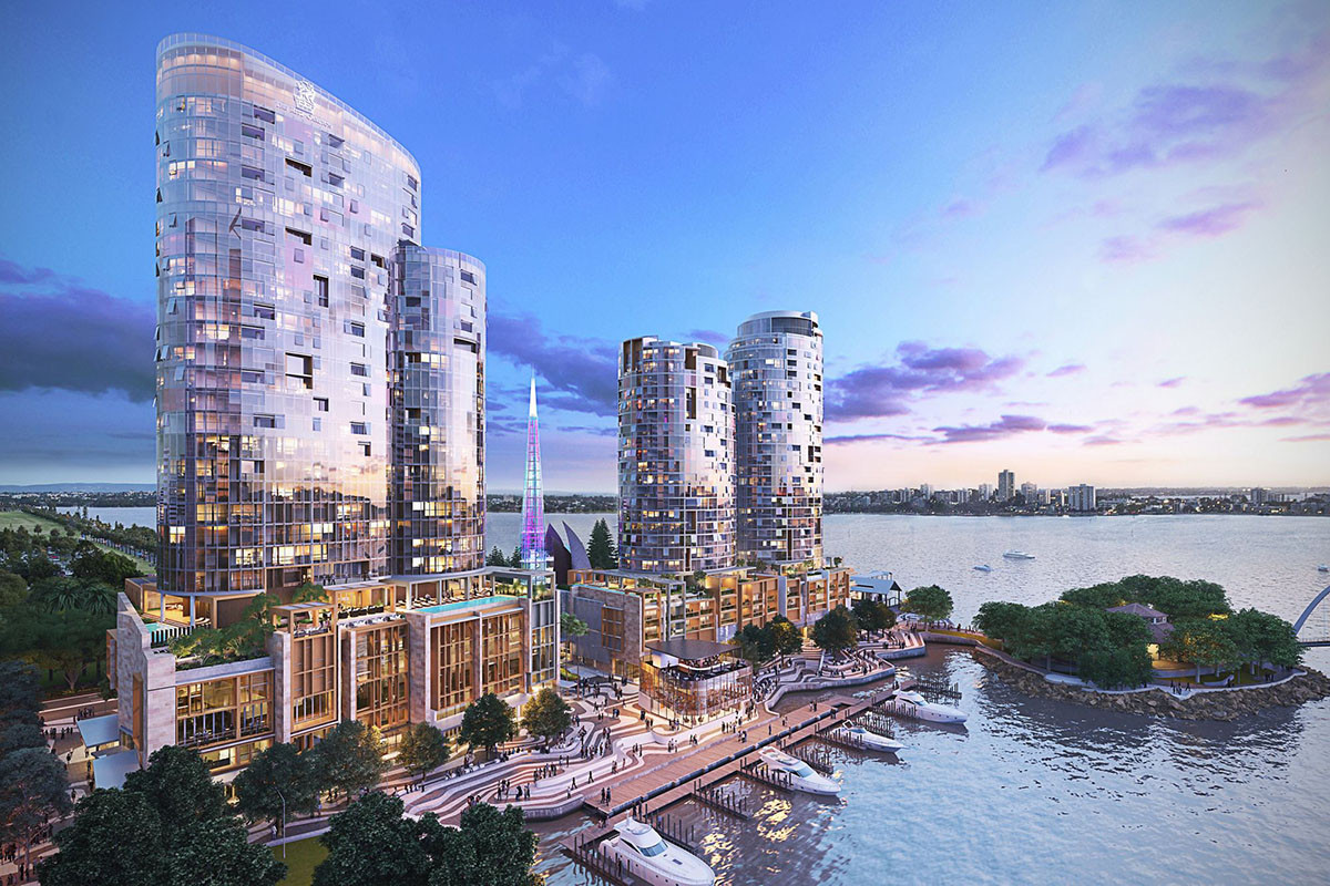 Ritz-Carlton Perth on Elizabeth Quay which is new for 2019