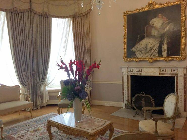 Boudoir at Farmleigh. OPW