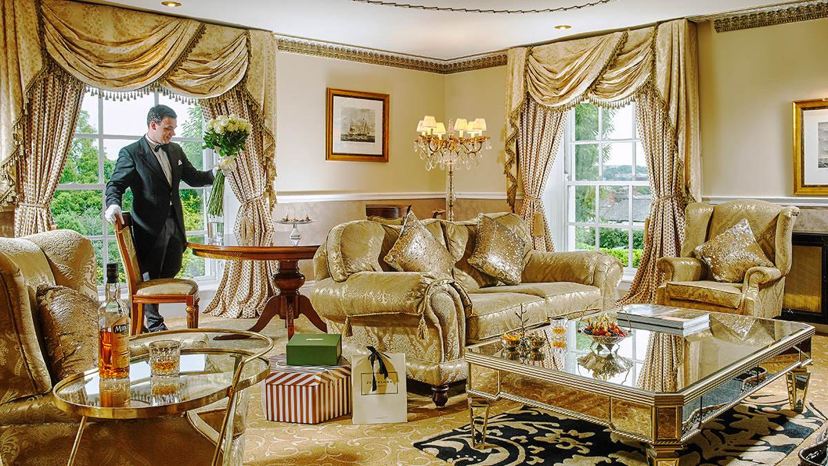 The Master Suite at Hayfield Manor Hotel