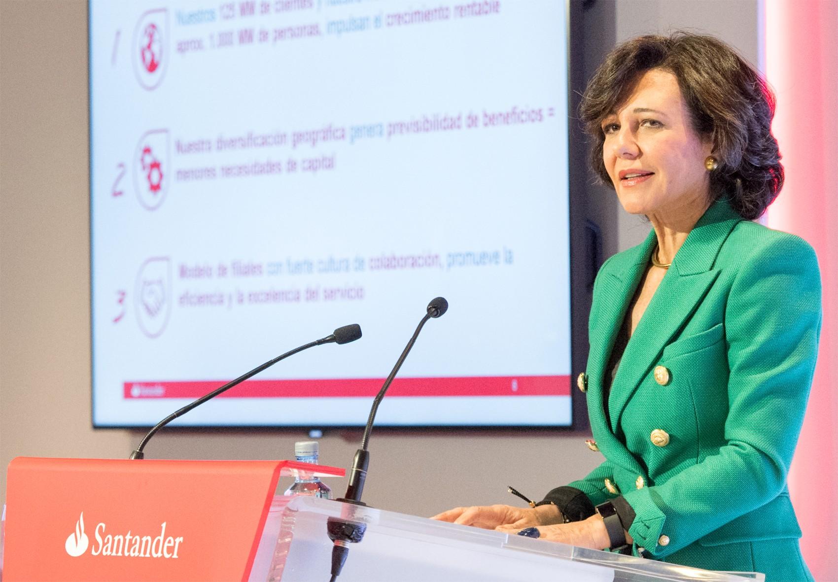 Ana Patricia Botín-Sanz de Sautuola O'Shea