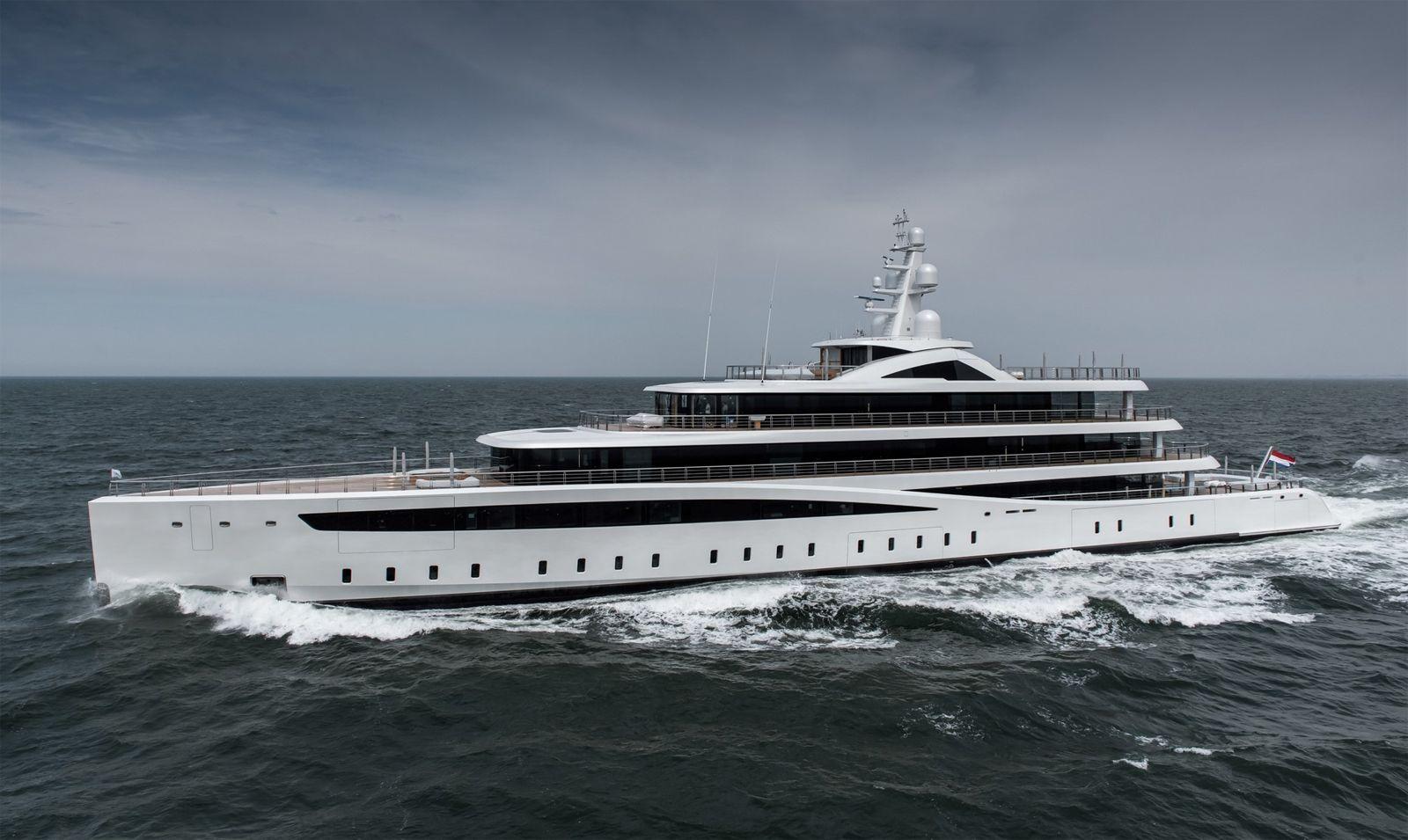 Viva -Eco-friendly 94-metre - from the Dutch shipyard Feadship