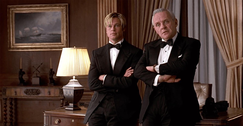 Sir Anthony Hopkins & Brad Pitt in 'Meet Joe Black'