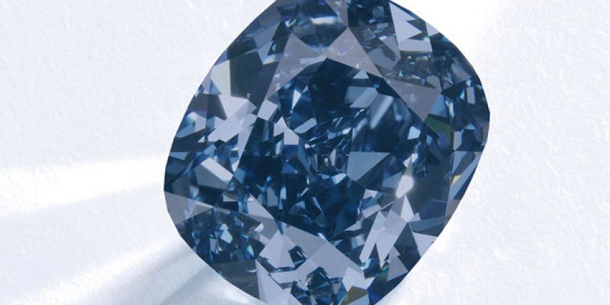 Flawless Blue Diamond Fetches over $48 Million