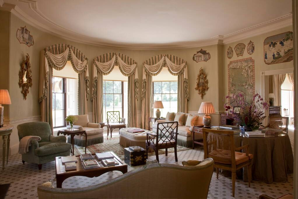 The Sir Christopher Coote Suite at Ballyfin Demesne