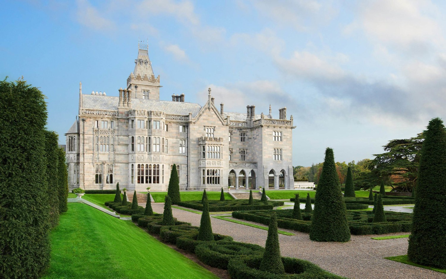 A wedding at Adare Manor will  be a real talking point!