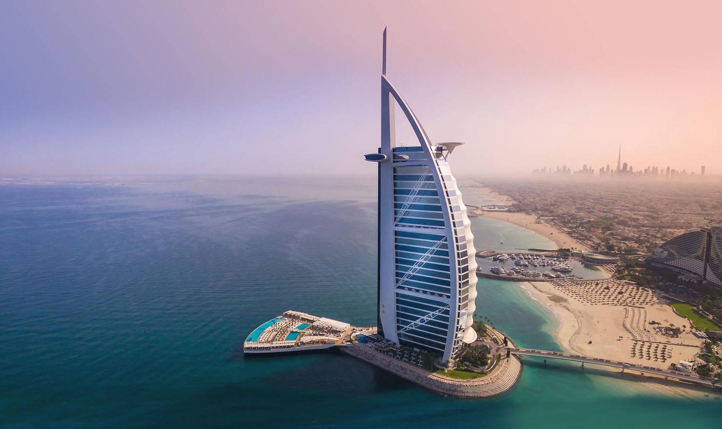 Dubai's lavish Burj Al Arab Hotel