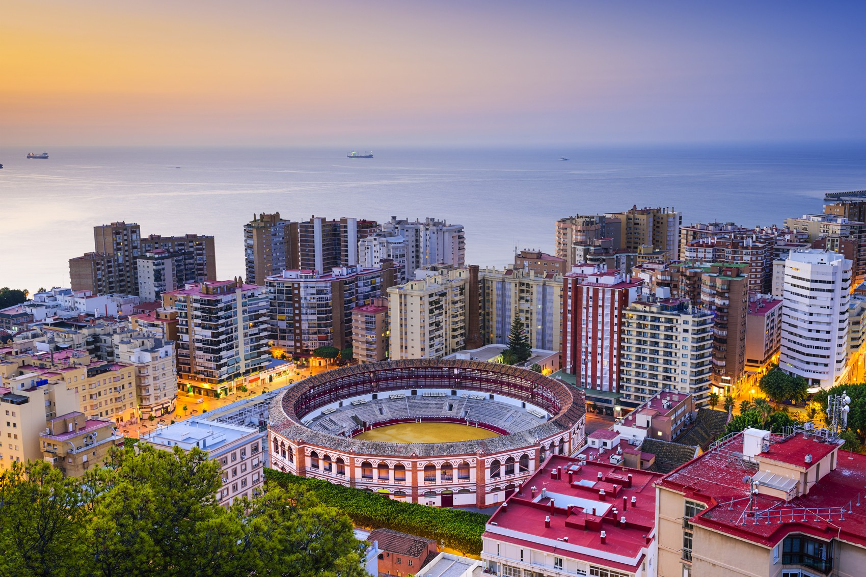 Málaga on southern Spain's Costa del Sol