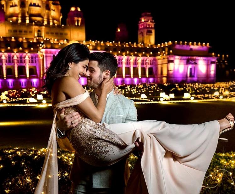 Priyanka Chopra and  American singer Nick Jonas