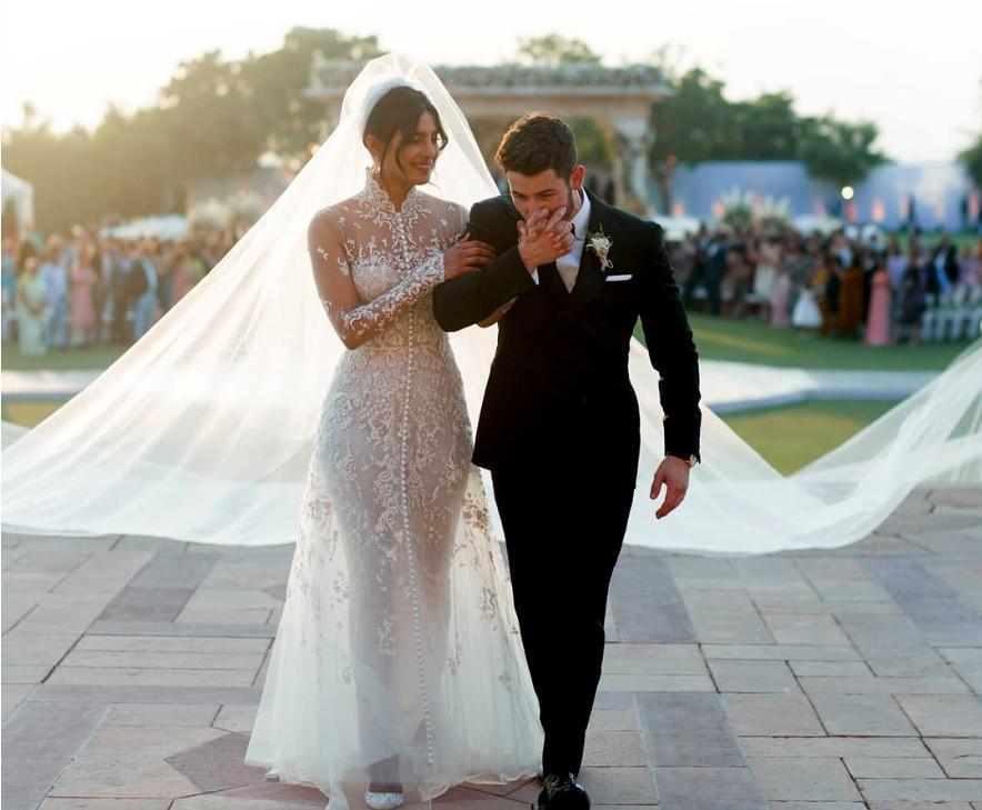 Priyanka Chopra's Stunning Ralph Lauren wedding gown