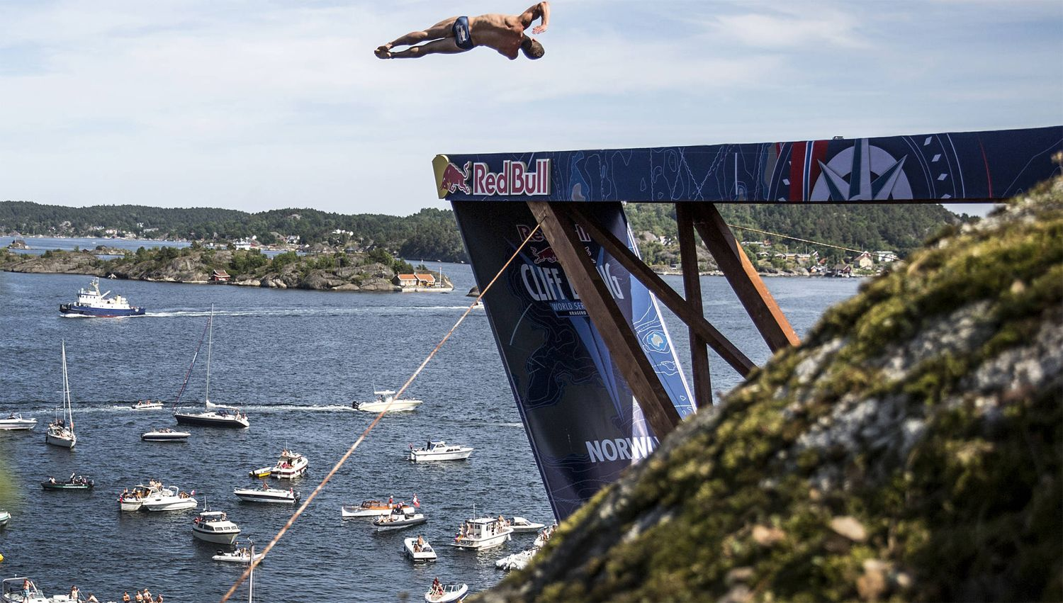 Oslo Opera House to Host Red Bull Cliff Diving