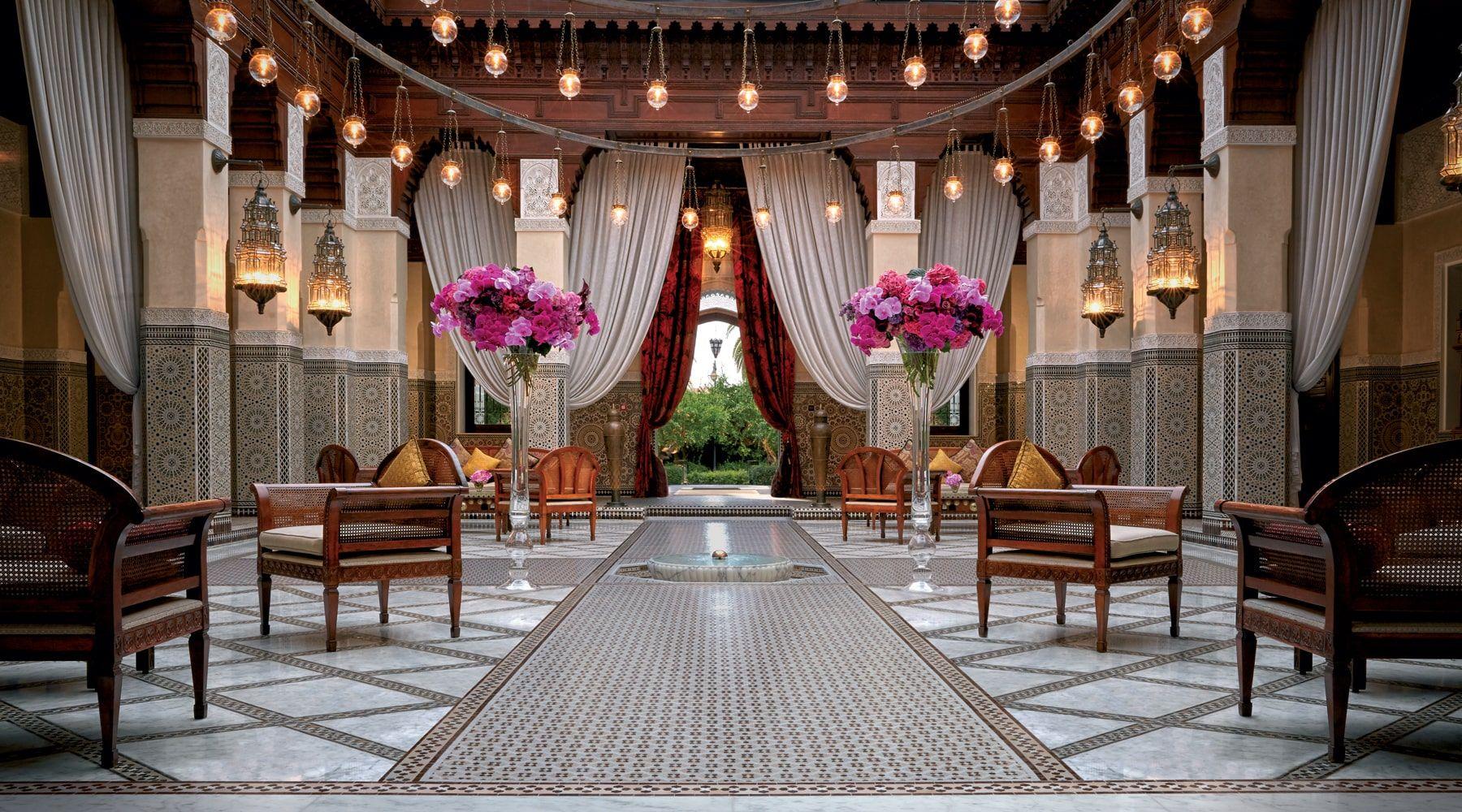 The 5-star Royal Mansour Marrakech