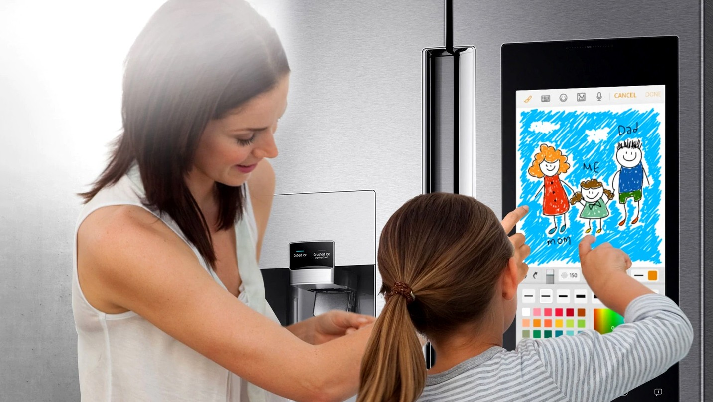 Samsung- reshaping home refridgeration