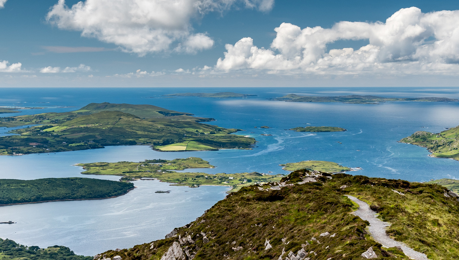 Diamond Hill in Connemara, Galway